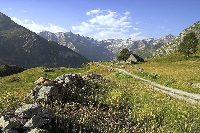 Plateau de Saugué et cirque de Gavarnie