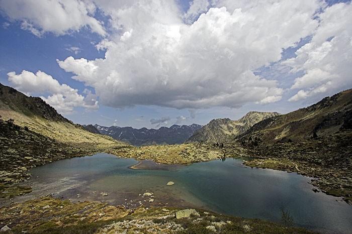 Lac Blanc dans les Hautes-Pyrénées
