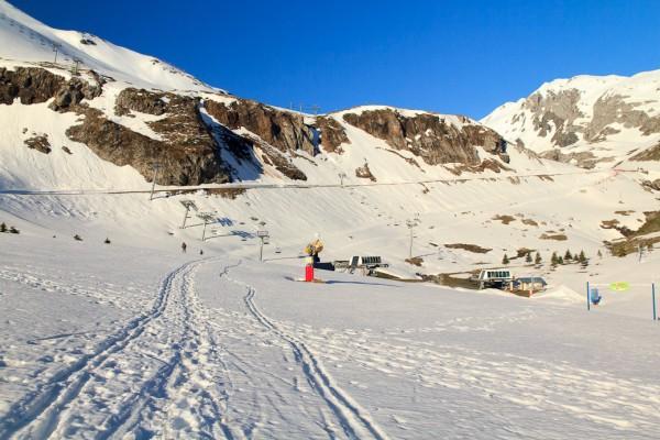 Randonnée en raquettes à neige au col de Tentes