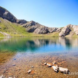 Au niveau du lac de la Bernatoire